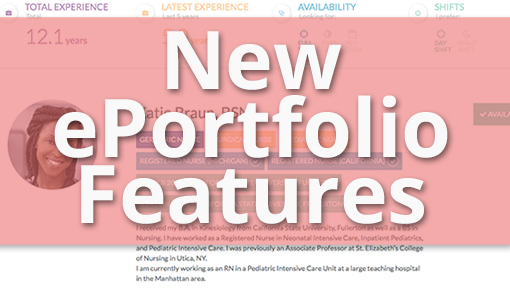 StaffGarden Blog New ePortfolio Features