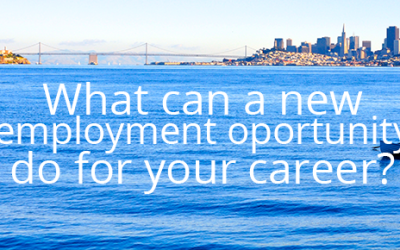 What Can A New Employment Opportunity Do For Your Career?