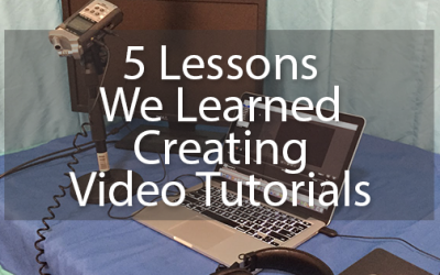 5 Lessons We Learned Creating Video Tutorials