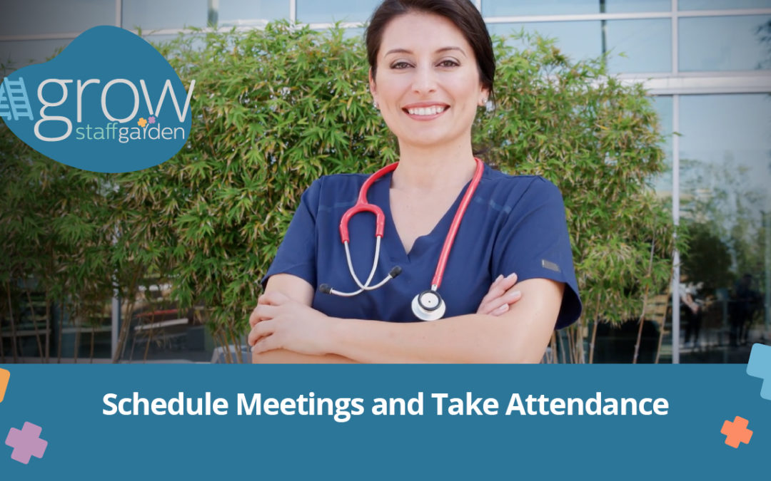 Schedule Meetings and Take Attendance – Grow Tutorial